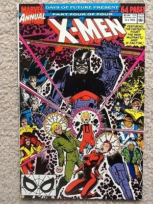 The Uncanny X-men Annual #14 1990 Marvel First Cameo app. Gambit! Very Fine