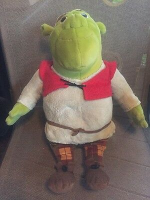 "JUMBO Shrek the Third Macy's 19"" PLUSH Stuffed Toy Doll Animal 2007"