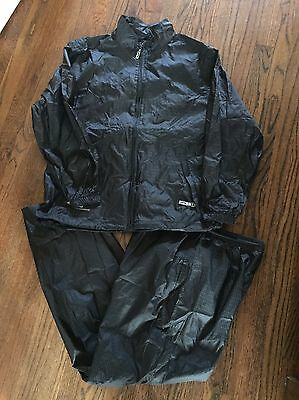 Sun mountain Golf Rain Suit Large Jacket and Pants Ex Cond Fast Ship