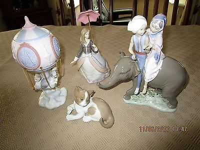 Four seperate Lladro for sale in perfect condition