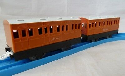 ANNIE AND CLARABEL for TRACKMASTER TOMY THOMAS THE TANK ENGINE