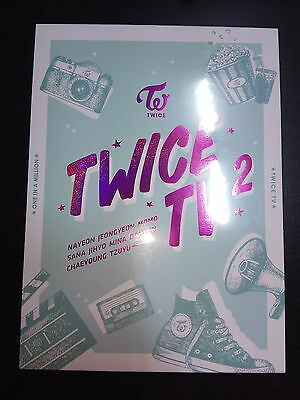 Twice - TV2 3 DVD 76 Page Photobook + Postcard New Sealed Korea Version