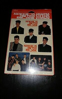 Vintage New Kids On the Block Stickers (Brand New)