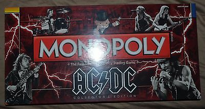AC/DC Monopoly Game, SEALED New in Original Factory Shrink Wrap