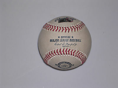 2016 Chicago Cubs 100th Anniversery Game Used Baseball MLB Authenticated