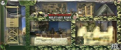 World Peacekeepers Army Military Checkpoint Toy Playset includes Figures 3+Years