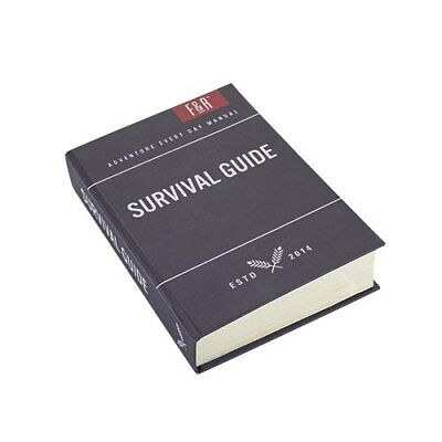 Foster & Rye: Survival Book 5oz (150ml) Sneaky Flask
