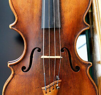 "Very old labelled Vintage violin ""Georges Chanot 1853"" 小提琴 скрипка ヴァイオリン Geige"