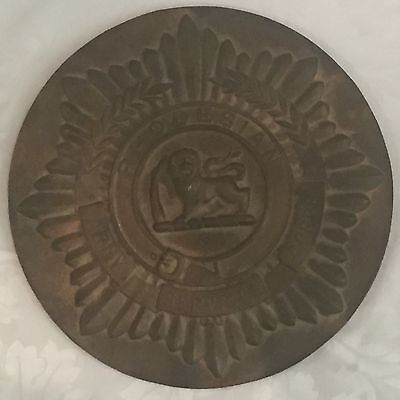 Rhodesia Army Service Corps Building Plaque / Sign: Military & Historical Item