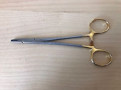 "CODMAN Mayo-Hegar Classic Plus Needle Holder 6"", TC Jaw Inserts, (Ref# 36-2016)"