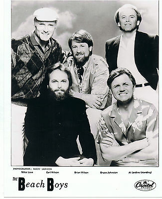 "The Beach Boys UK Original Capitol Promo Photo  10"" x  8"""