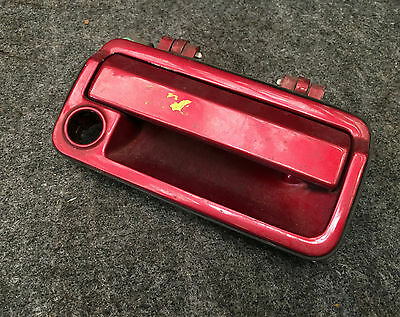 ROVER 800 DRIVER SIDE FRONT DOOR HANDLE 1986-1999 offside right outer maroon