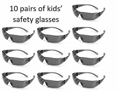 10 pairs of kids safety glasses for Nerf N-Strike parties - choose your colours!