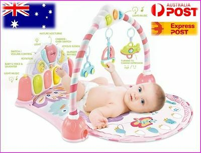Baby musical play mat gym with piano