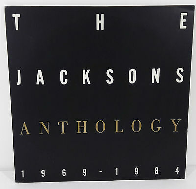 Michael Jackson and the Jacksons Anthology 1969-1984 Japan 1984 2LP Promo Only