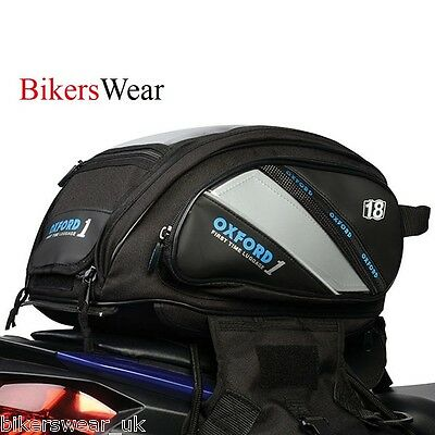 OXFORD First Time Luggage Tank 'n' Tailer Tankbag & Tailpack 18L Motorcycle Bag