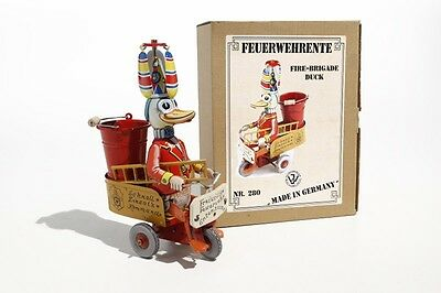 wind up donald duck Fire Brigade  Made in Germany