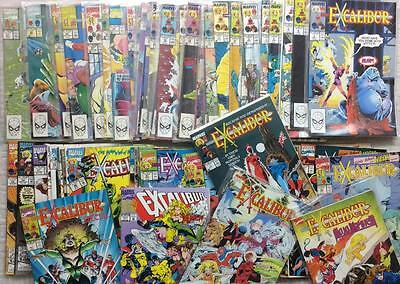 Excalibur MASSIVE LOT 62 X issues from 1st series (1988) + specials see listing