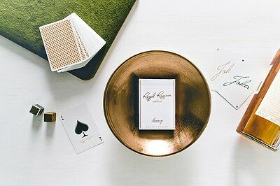 Royal Reserve Playing Cards Ellusionist Kuxury Limited Edition Magic Poker Deck