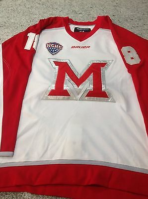 Miami University (Ohio) Game Used John Doherty Hockey Jersey NCHC NCAA