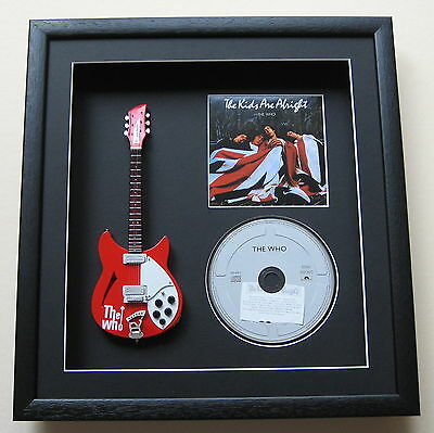THE WHO The Kids Are Alright  CD & MINIATURE GUITAR Disc Presentation