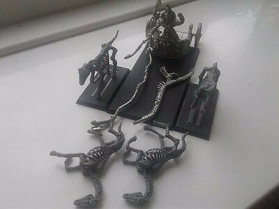 Warhammer Fantasy Tomb Kings Settra The Imperishable Assembled Metal OOP Chariot