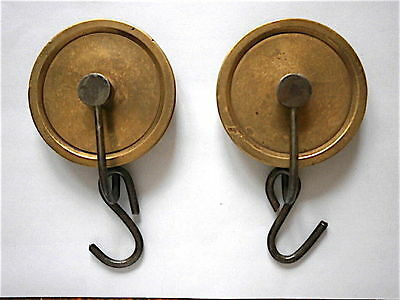 Good Pair Of Early 8 Day Line Pullys C1760 • £25.00