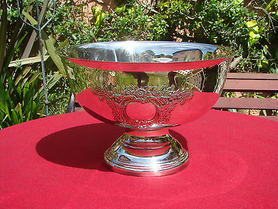 Vintage Silver Plate Heavy Champagne Bucket Wine Ice Cooler Punch Bowl Trophy