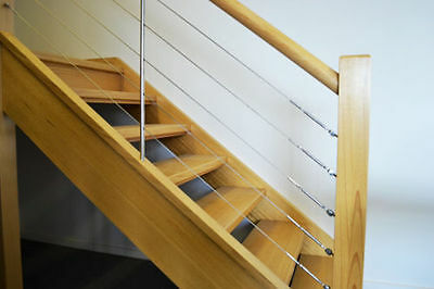 Decking Infill Wires and Cable Railing System, stainless any length available