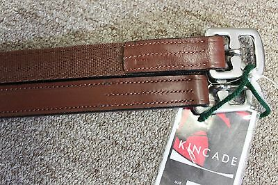 "NEW Kincade Nylon Lined Stirrup Leathers - Chestnut - 48"" x 1"""