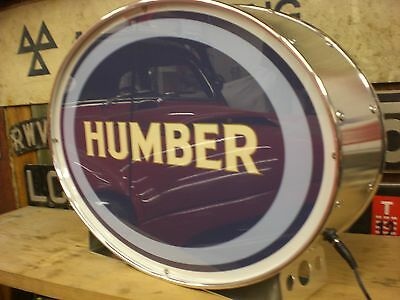 humber,snipe,sceptre,xmas,mens,gift,classic,mancave,lightup sign,garage,workshop