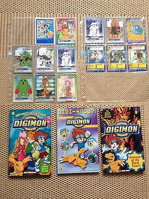 Digimon Books and Trading Cards Collection