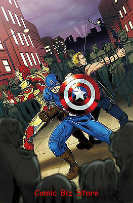 Zombies Assemble  #3 (Of 4) (2017) 1St Printing Bagged & Boarded Marvel