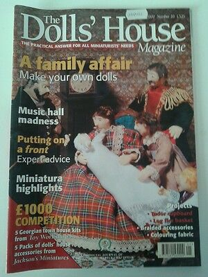 The Doll's House Magazine January 2000 Issue Number 20