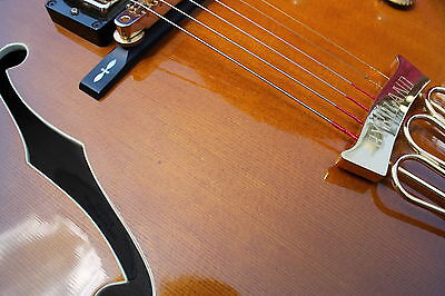Gibson Byrdland Scotty Moore signed (Elvis) Hutchins Master Model Archtop 1990