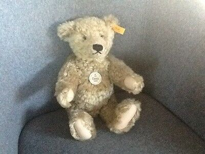 STEIFF 35cm 1920 CLASSIC MOHAIR TEDDY BEAR WITH GROWLER