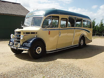 Bedford Duple Ob 29 Seater Coach1950 Goodwood ???prize Winning Restoration