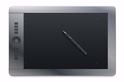 Vinyl Decal Wrap Kit for Wacom Intuos Pro L Drawing Tablet Art Graphics - SILVER