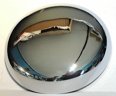 """horn cover 6-1/4"""" to 7"""" bell size round chrome Kenworth Peterbilt Freightliner"""