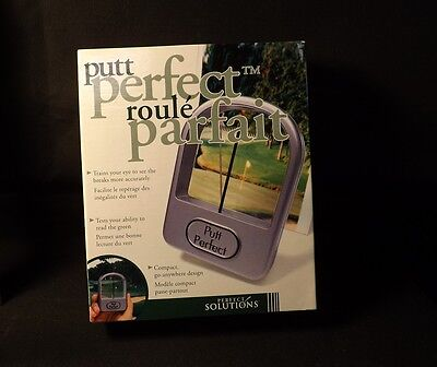 Putt Perfect Putting Aid. New still in Original Packaging. Nice