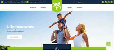 COVERSUPERMARKET.CO.UK, premium live insurance comparison domain name.