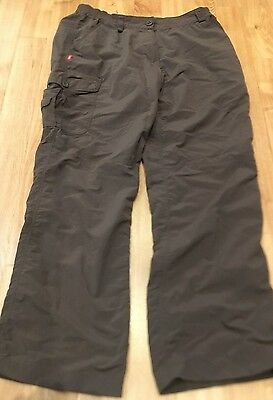 CRAGHOPPERS Outdoor Ladies trousers with Nosilife protection, Size 12 (short)
