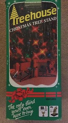 Rare Treehouse Christmas Tree Stand 1989  Product Of The Year