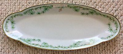 "RARE Tiffany & Co. Le Tallec Studio Paris""King Hassan II of Morocco"" Platter 23"""