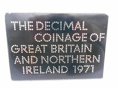 1971 boxed set of decimal coinage of Great Britain and Northern Ireland