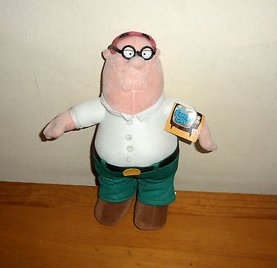 FAMILY GUY PETER SOFT TOY PLUSH. Year 2005 20th Century Fox Film