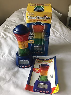 Highlights Time Tracker Visual Time Tracker & Clock~Learning Resources