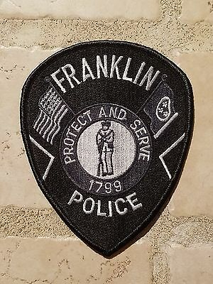 Tennessee Police Patches