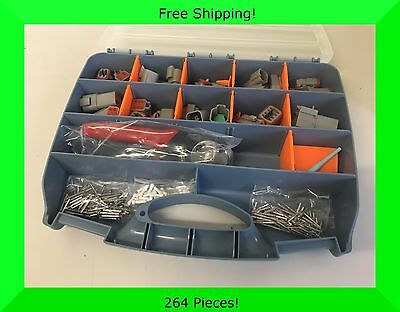264pc Deutsch DT connector kit with crimper - *Water Proof* *OFFROAD*