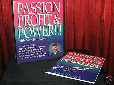 PASSION, PROFIT & POWER - MSRP $220 MARSHALL SYLVER TAPES + 6 CD Success Wealth